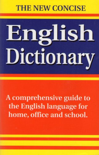 The New Concise English Dictionary