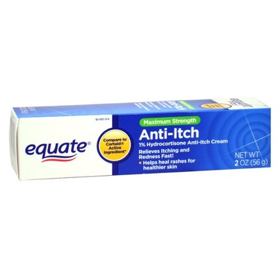 Equate Hydrocortisone Cream 1% Equate Anti Itch 2 oz