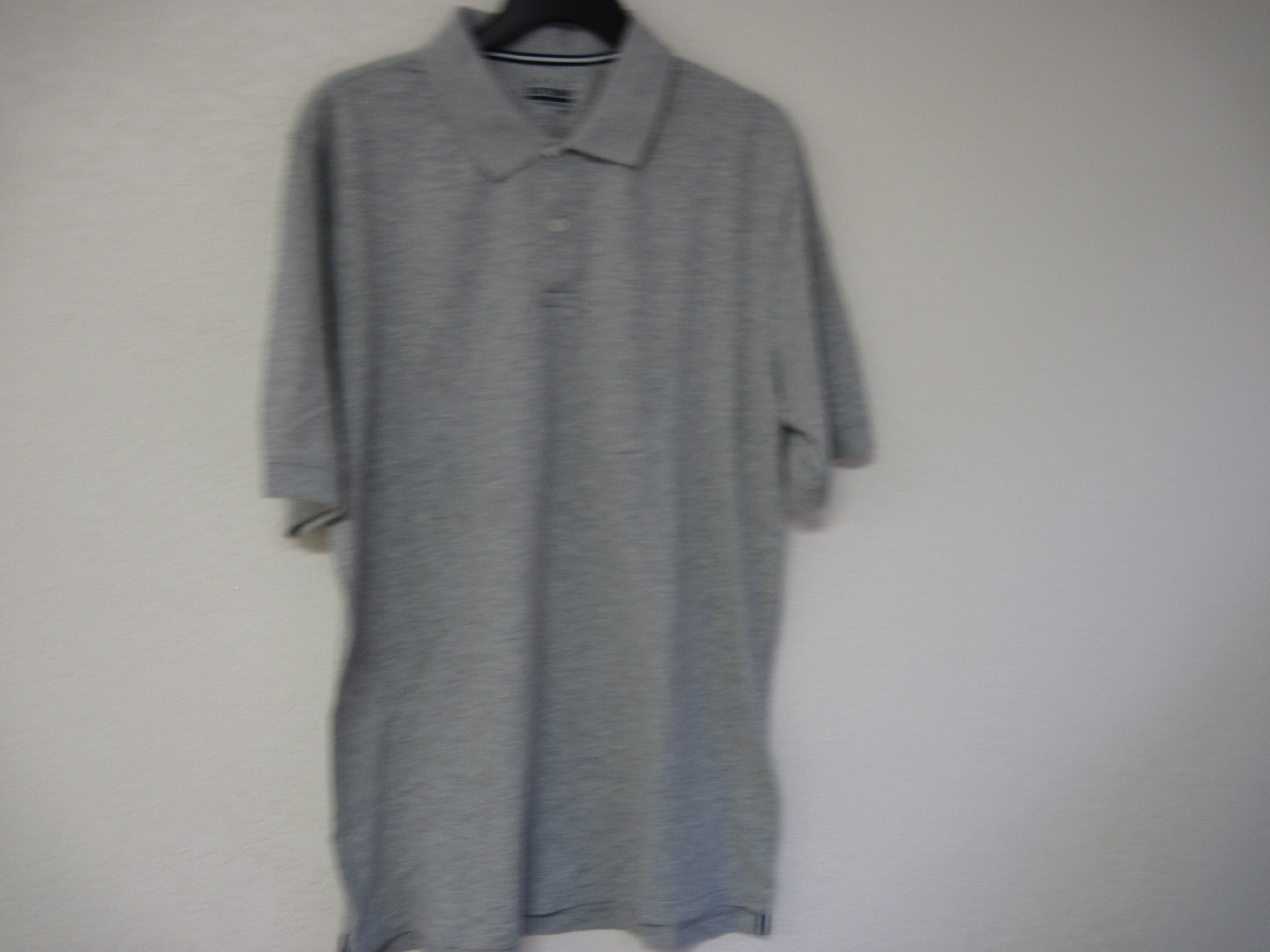 Basic Editions Sz M Polo Shirt (Gray)