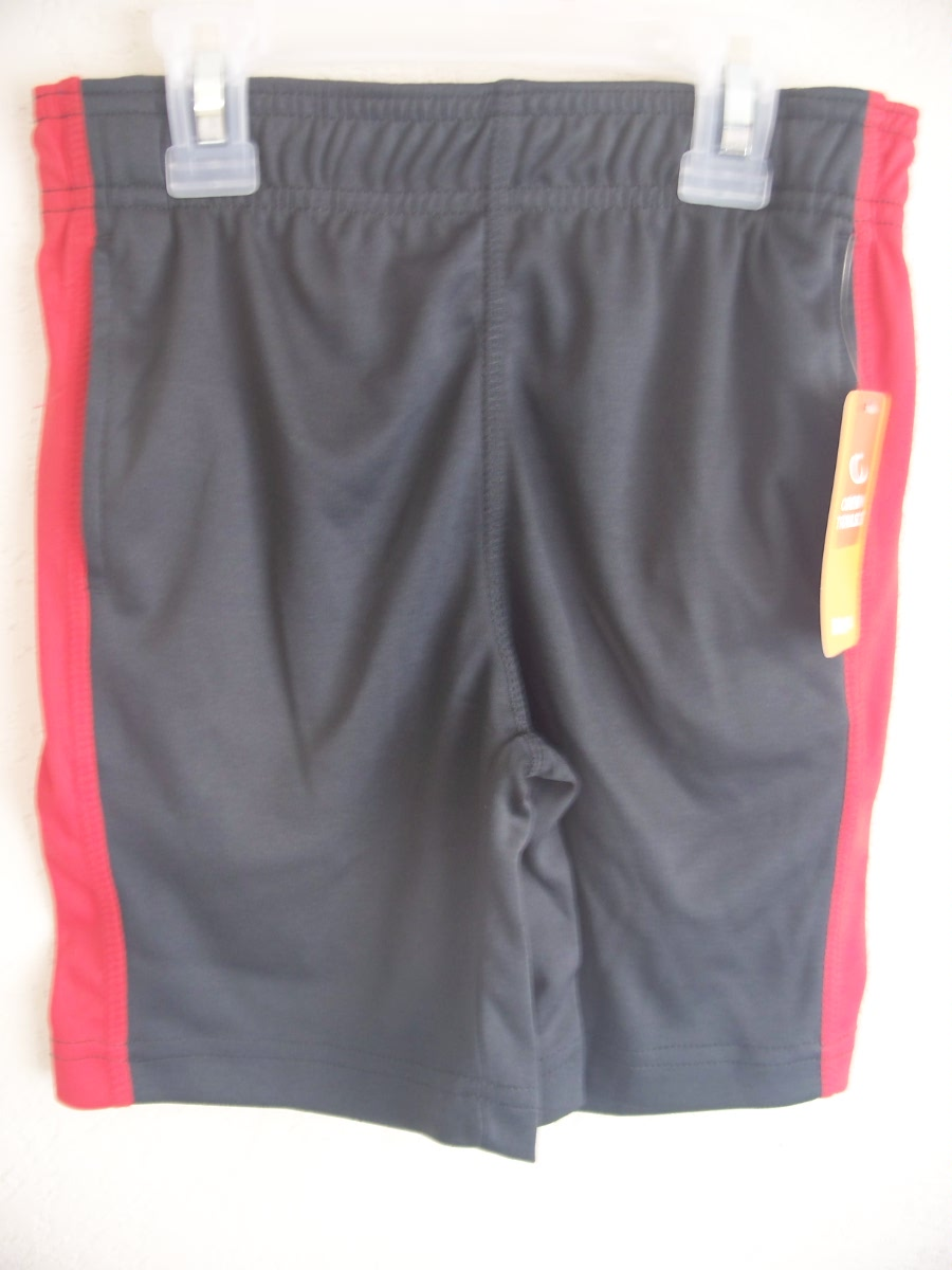 Open Trails SZ XS 4-5 Shorts Gray & Red