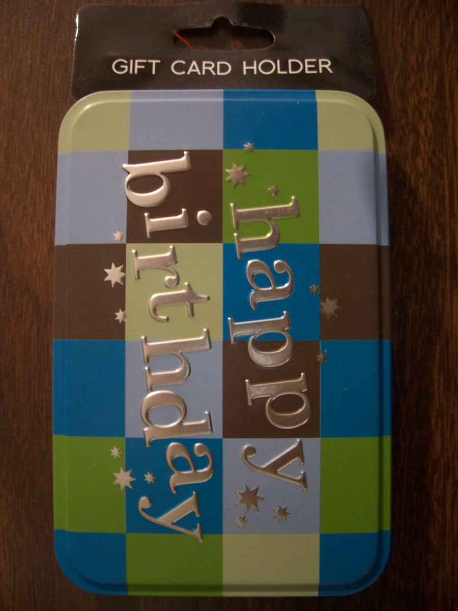 """Happy Birthday"" Gift Card Holder"