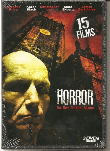 Horror 3 Disc Package With 15 Movies