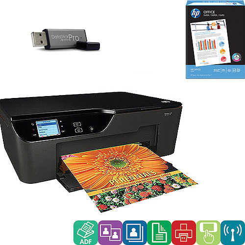 HP Deskjet 3522 Inkjet Multifunction Printer/Copier/Scanner