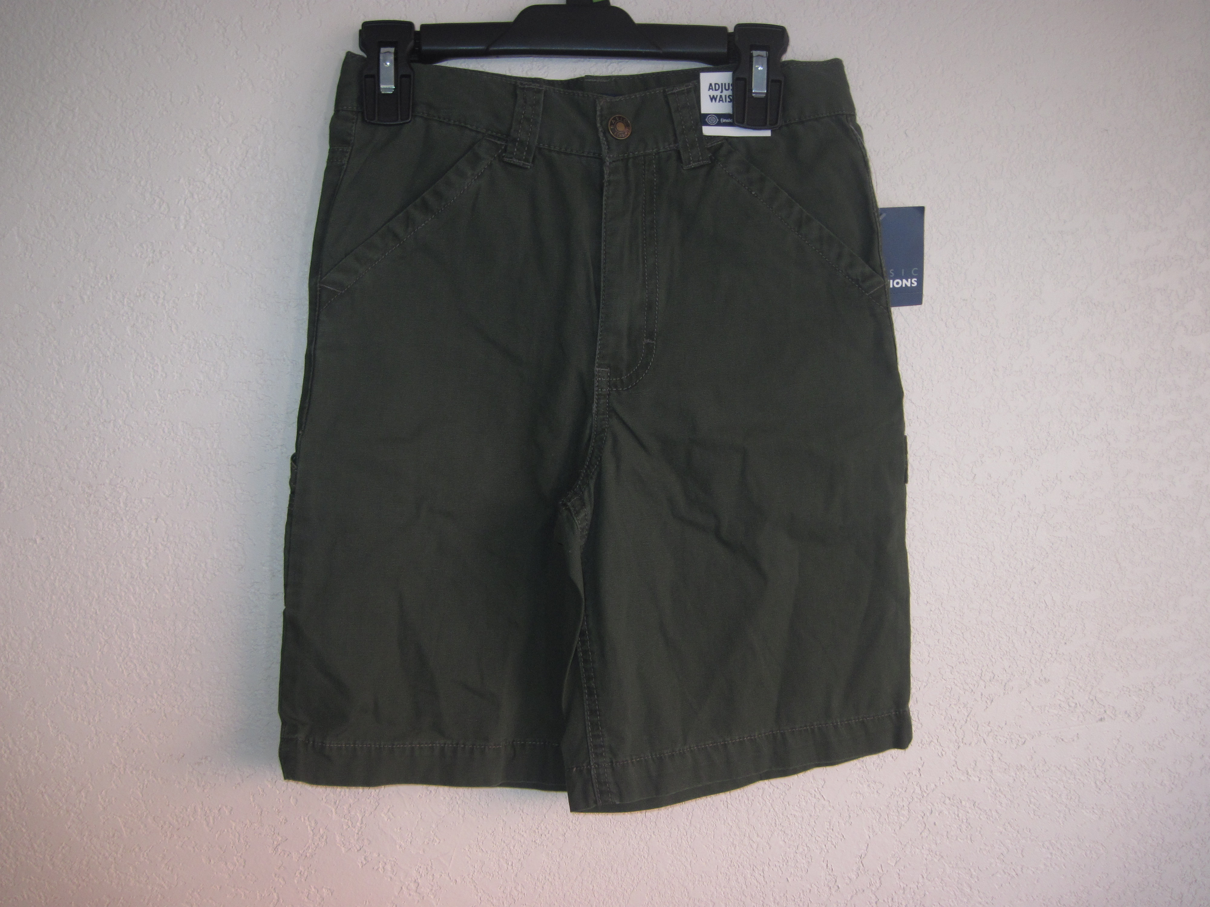 Basic Editions Sz 7 Carpenter Shorts (hunter green)