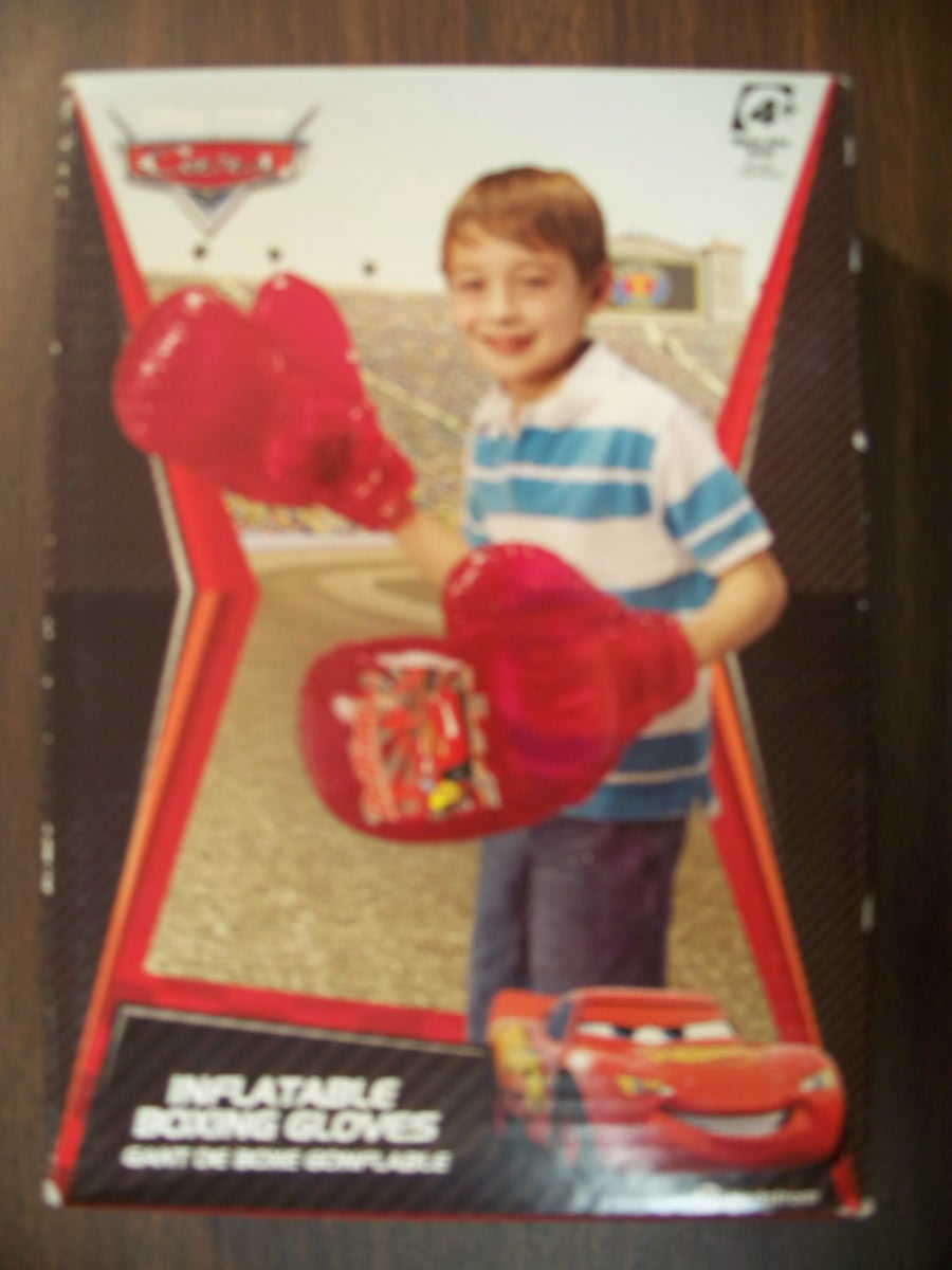 Inflatable Boxing Gloves (Cars )
