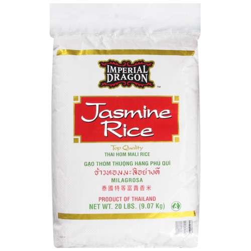 Imperial Dragon: Jasmine Rice, 20 Lb