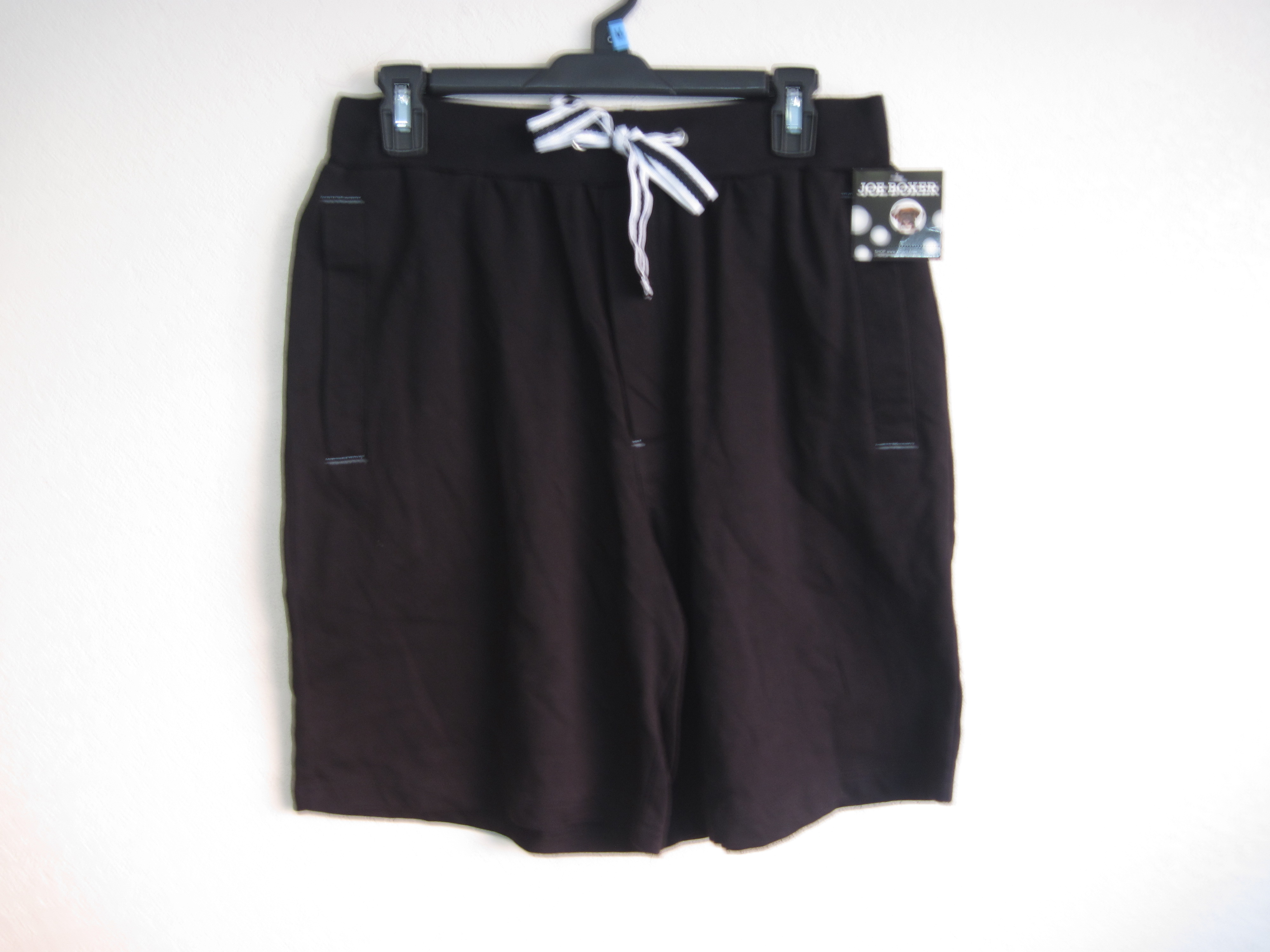 Joe Boxer Sz m Mens Shorts (Black & White)