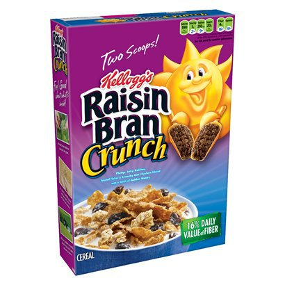 Kellogg's Raisin Bran Crunch - 18.2 oz (4-pk)