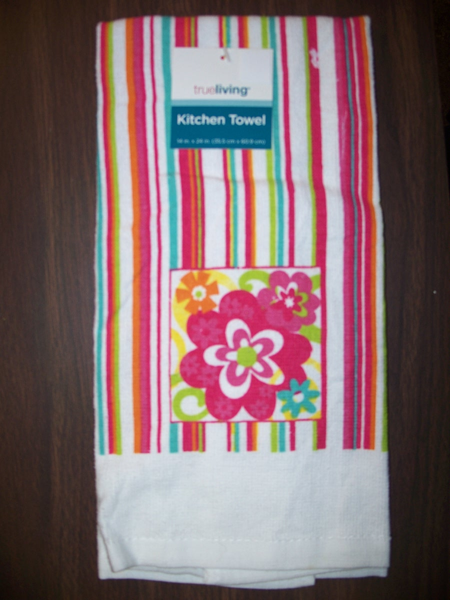 Kitchen Towel (Flowers & Strips )