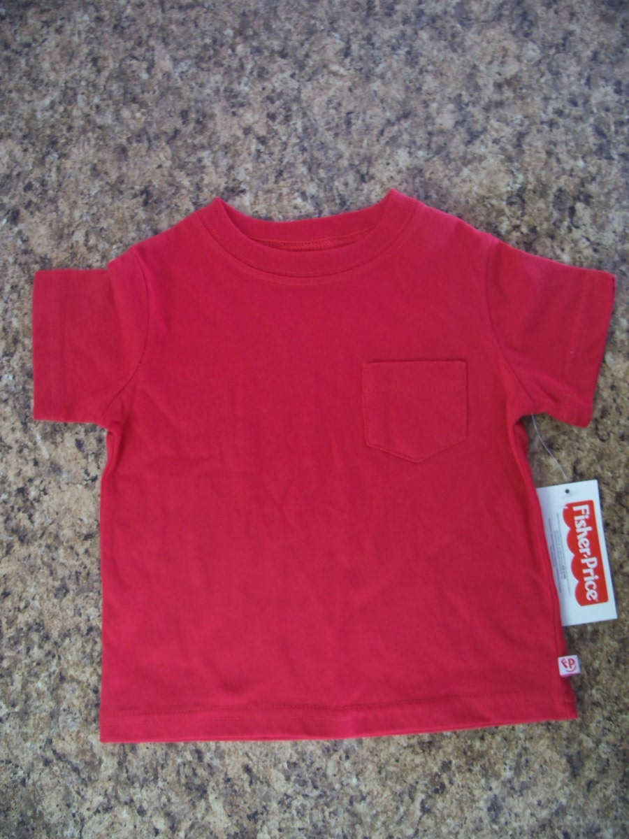 Fisher Price Sz 12 Months Red T-Shirt