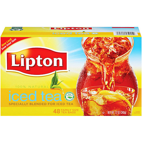 Lipton 100% Natural Tea Bags (pack of 6)