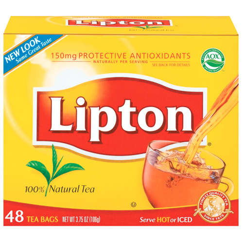Lipton Tea Bags, 48ct