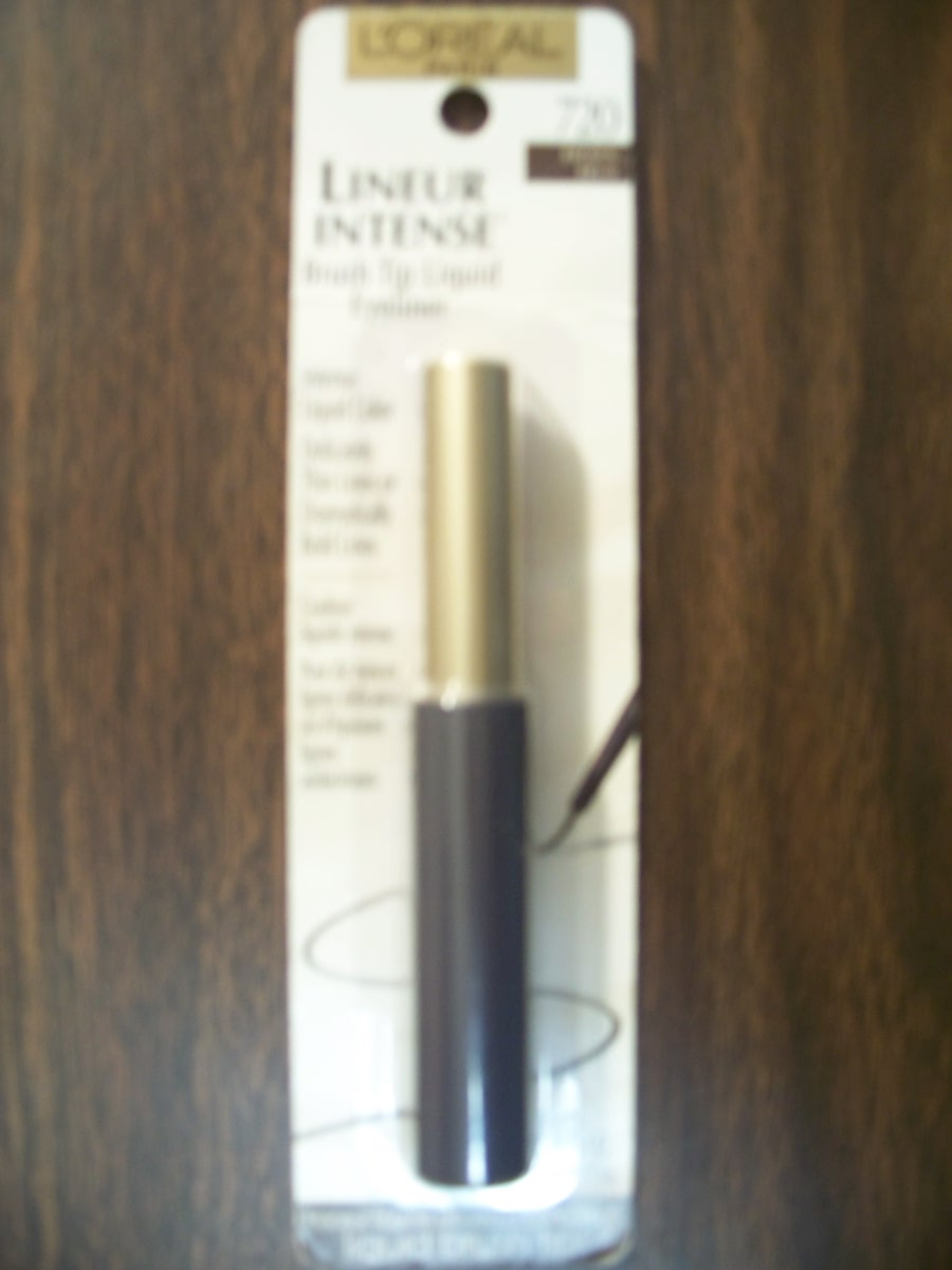 Loreal Brush Tip Liquid Eyeliner (Black )