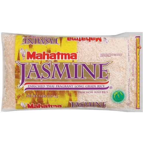 Mahatma: Enriched Thai Fragrant Long Grain Jasmine Rice, 5 Lb
