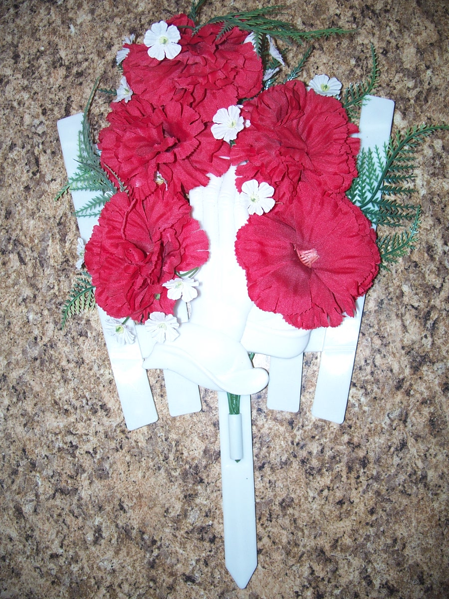 Red Carnation Memorial Day Flowers