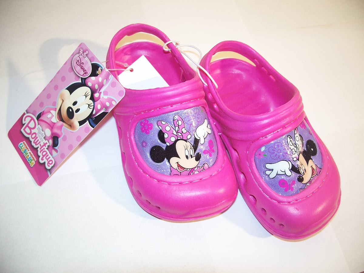 Disney Bow-tique Mini Mouse Sandles size 6