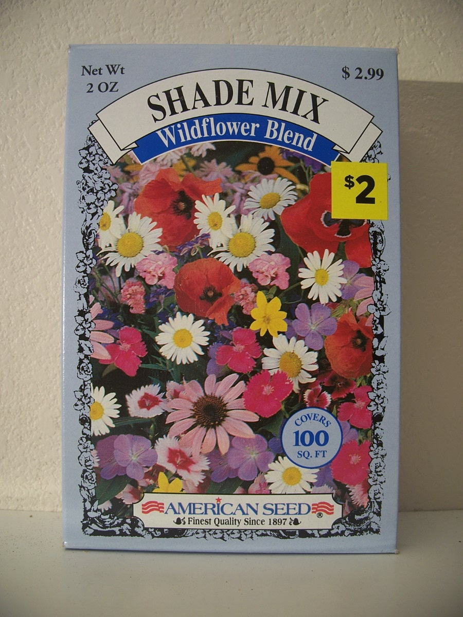 Shade Mix Wildflower Blend 2.oz.Covers 100 AQ.FT