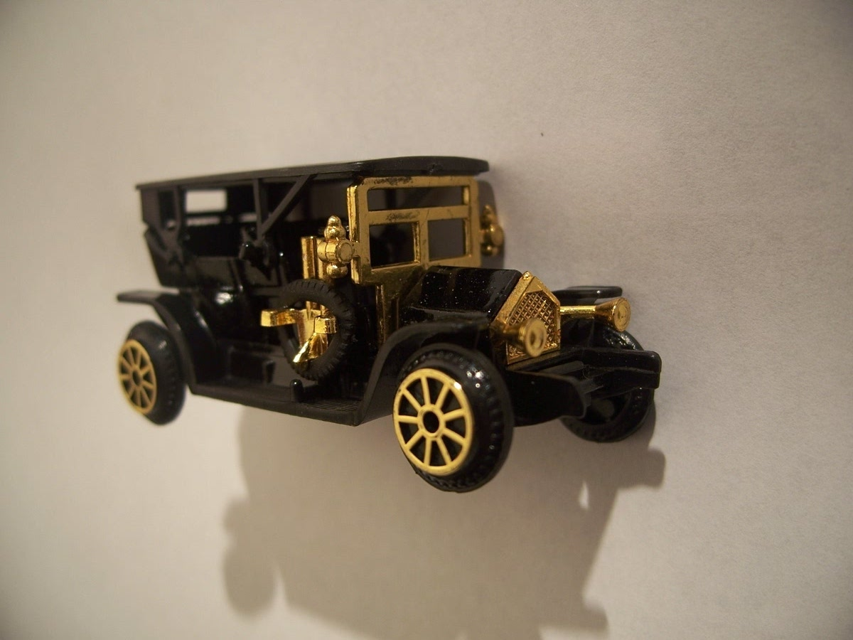 Collectible Miniature Readers Digest Oakland Mini Antique Car Mo