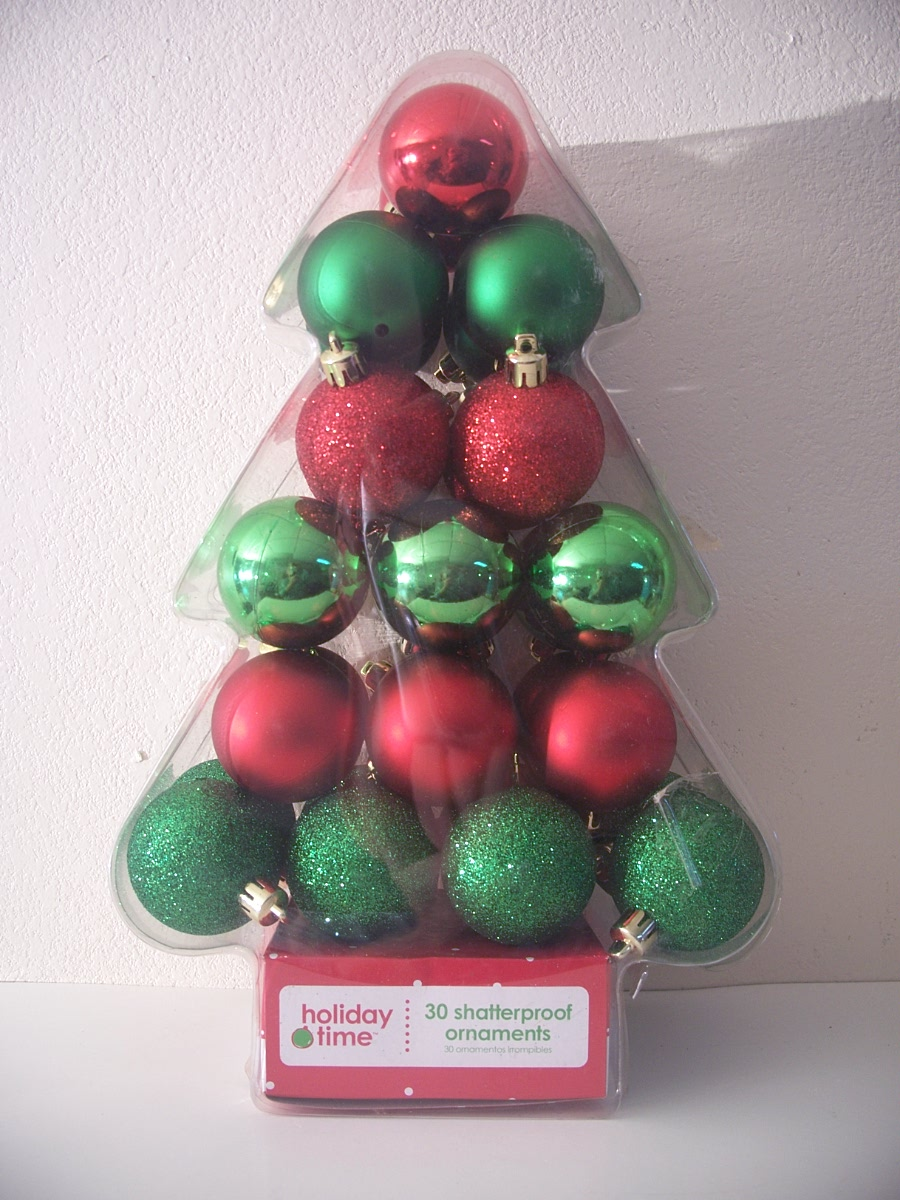 "Set of 30 Lavender 2"" Shatterproof Christmas Balls"