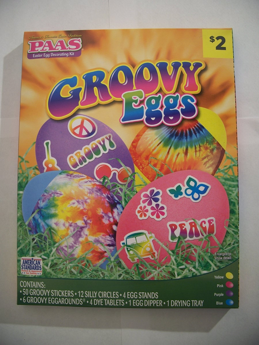 Paas Easter Egg Decorating Kit Groovy Eggs