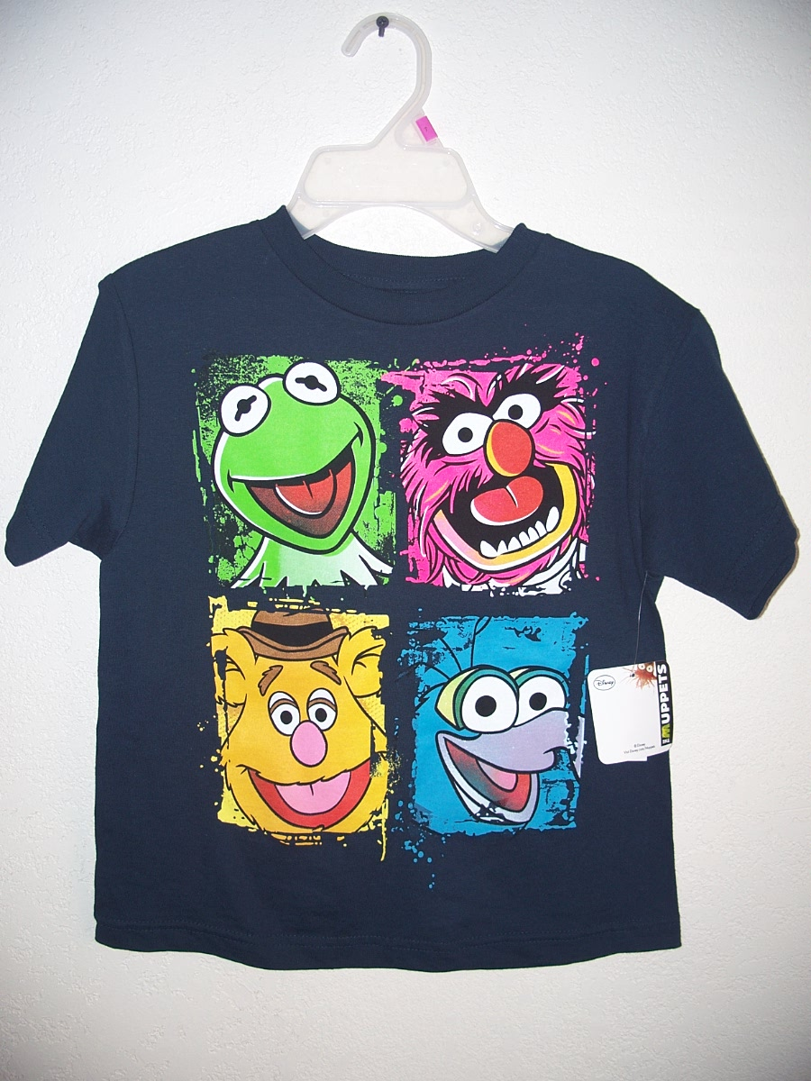 """The Muppets"" Sz 5/6 Navy Blue"