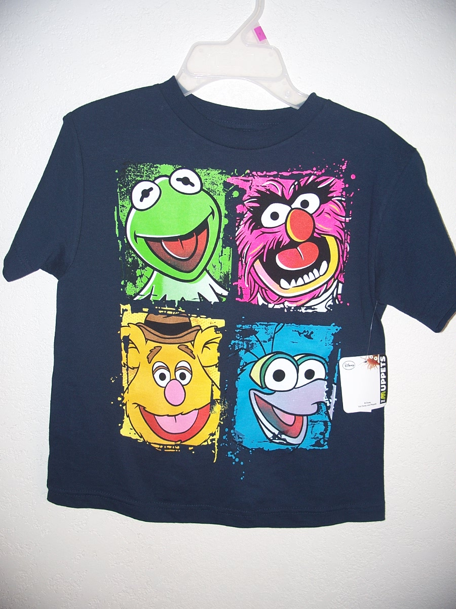 """The Muppets Sz 7 Navy Blue T-Shirt"