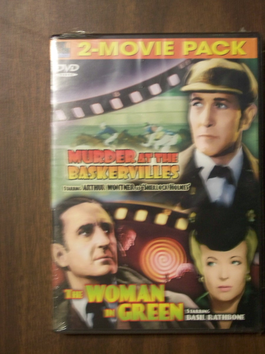 Double Feature~Murder at the Baskervilles / The Woman in Green