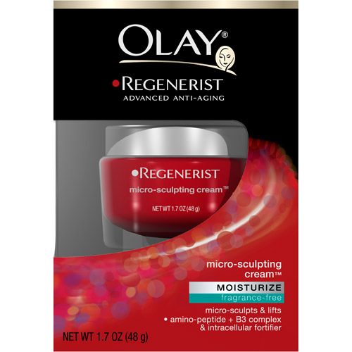 Olay Regenerist Micro-Sculpting Fragrance-Free Face Cream, 1.7 o