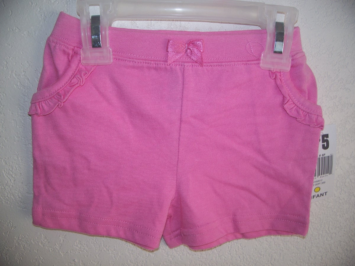 Sz 24M Pink Pocketed Shorts