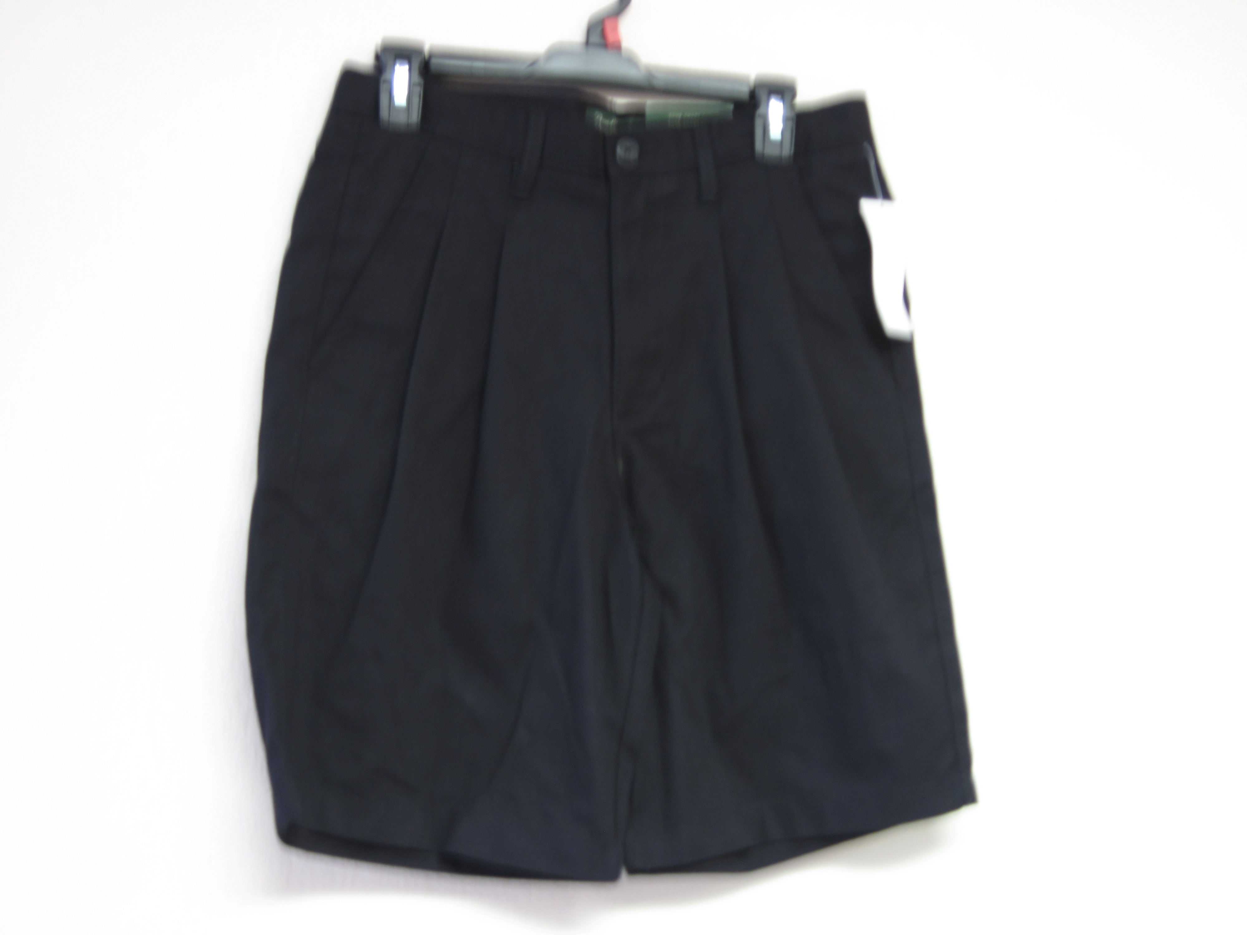 David Taylor Sz 42 Pleated Black Shorts