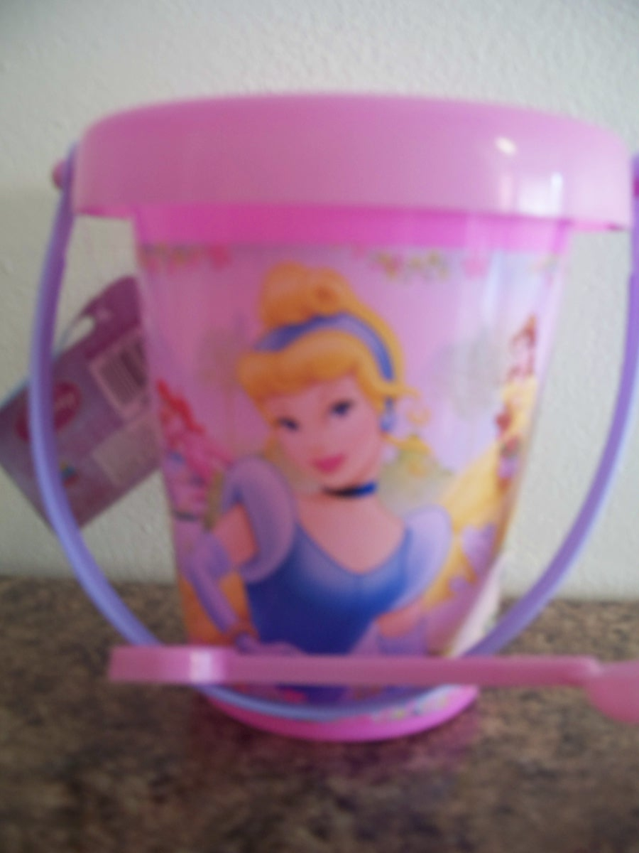 Disney Princess Plastic Sand Pail and Shovel
