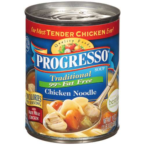 Progresso: Chicken Noodle Traditional 99% Fat Free, 19 Oz