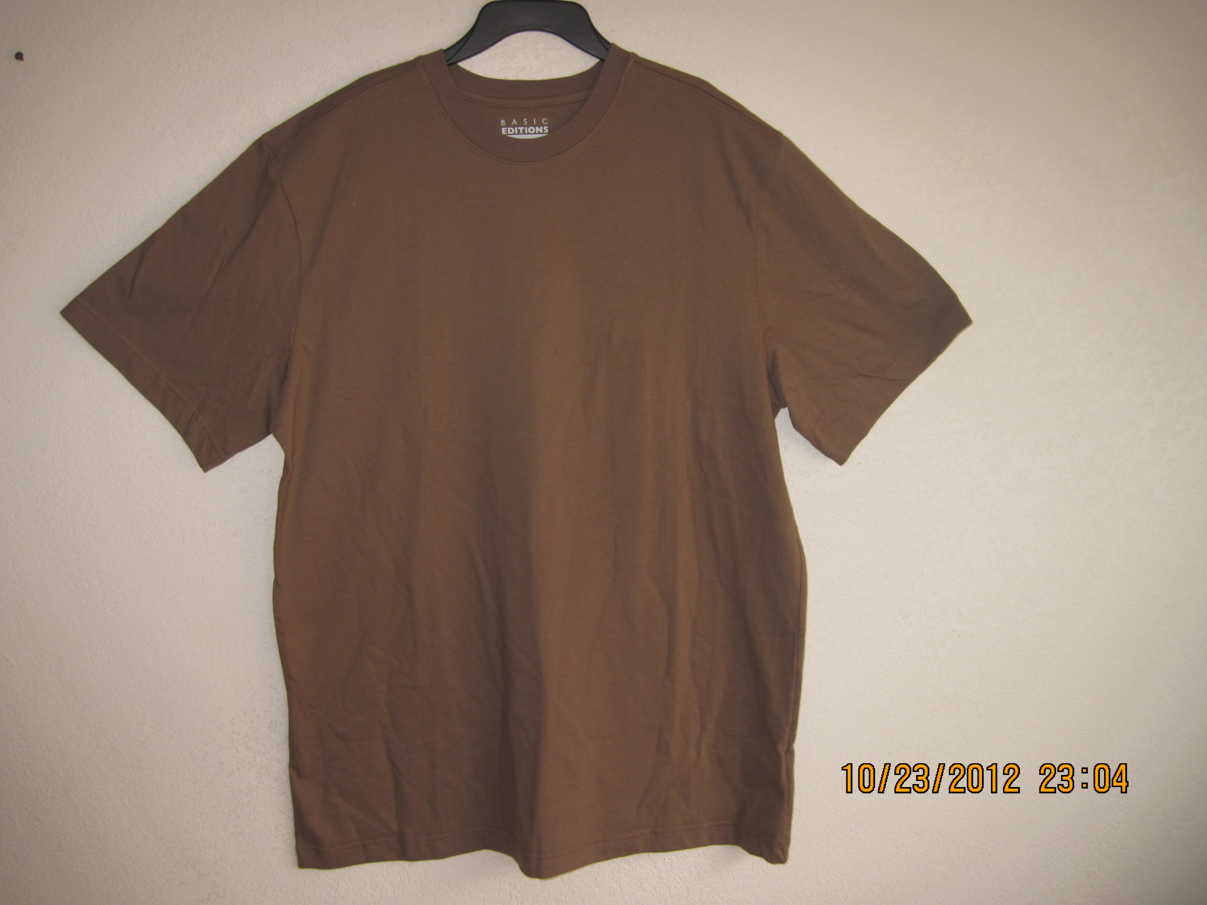 Basic Editions SzL SS Promo Crew Shirt - Brown