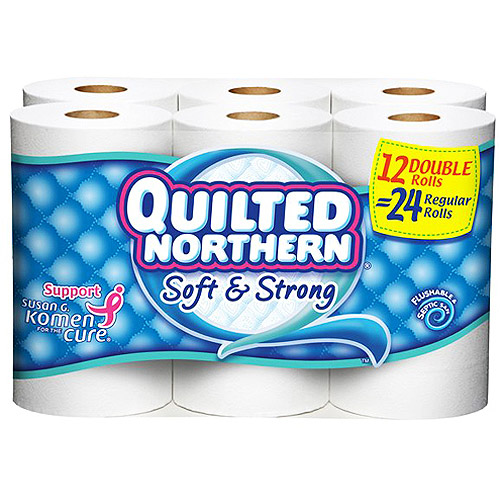 Quilted Northern Soft & Strong Bathroom Tissue, 12 ct