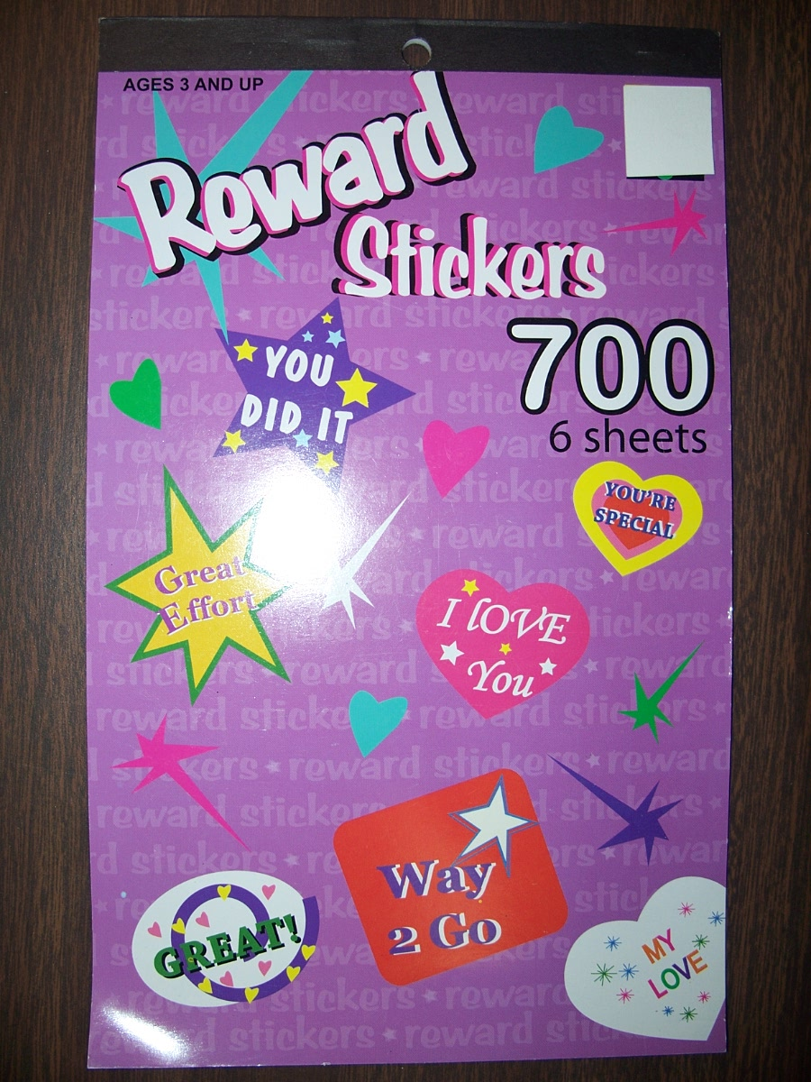 Reward Stickers 700