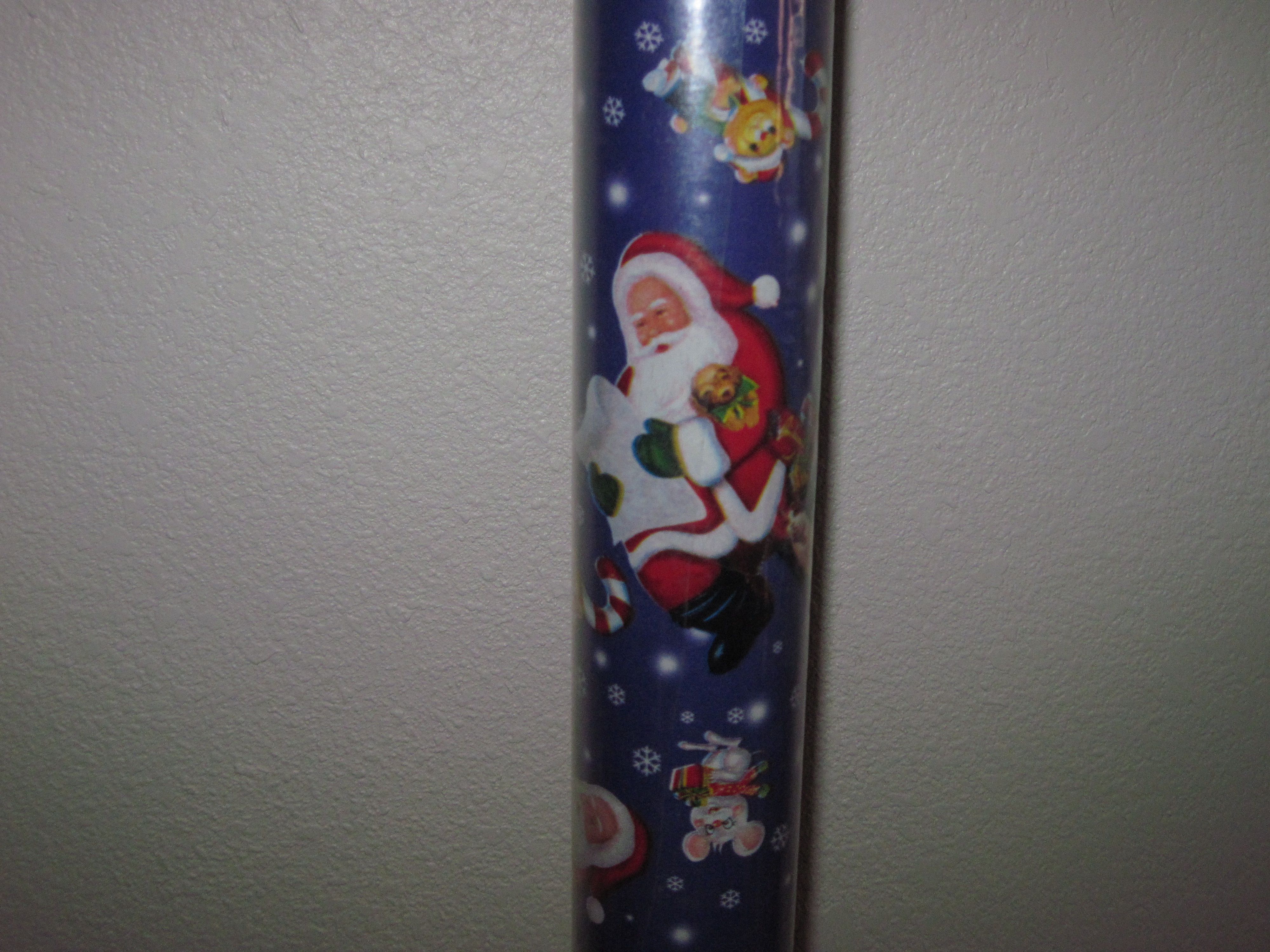 Christmas Wrapping Paper - Santa's List - 40 ft