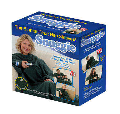 Snuggie Greem with Envy Adult Size