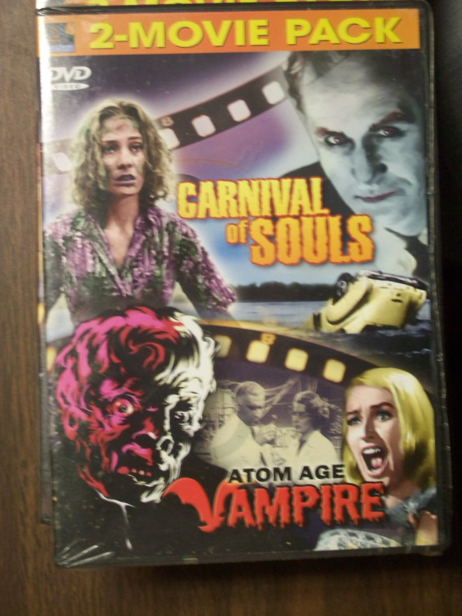 Double Feature~~Carnival of Souls / Atom Age Vampire