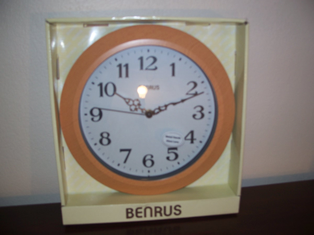 Benrus Wall Clock