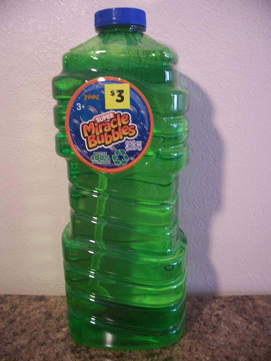 Super Miracle Bubbles (green )
