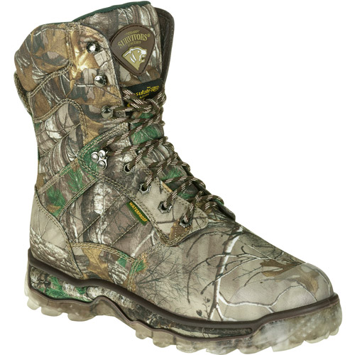 Camo Hunting Boots Herman Survivor Men's 8""