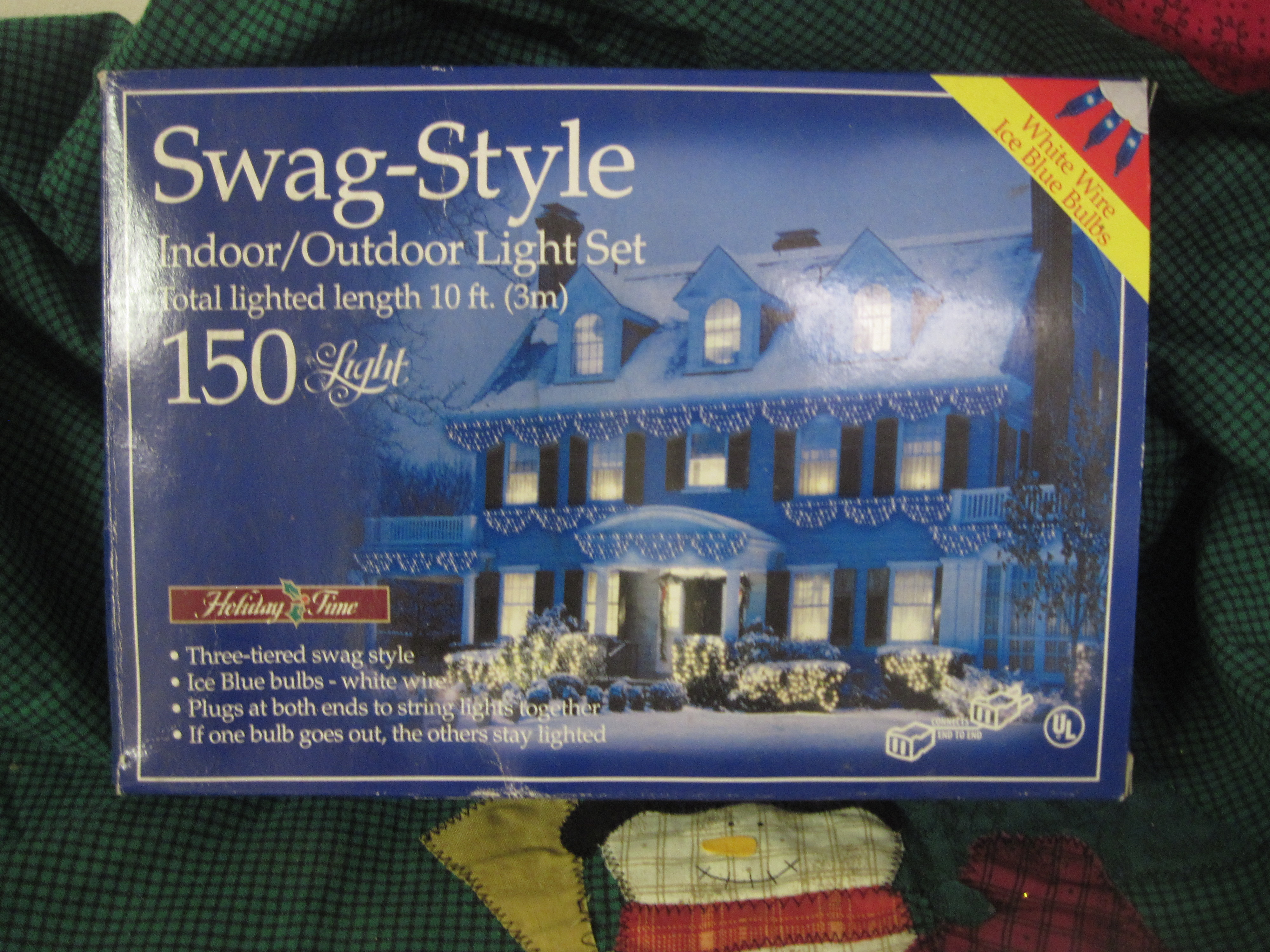Holiday Time Swag-Style Light Set - 150