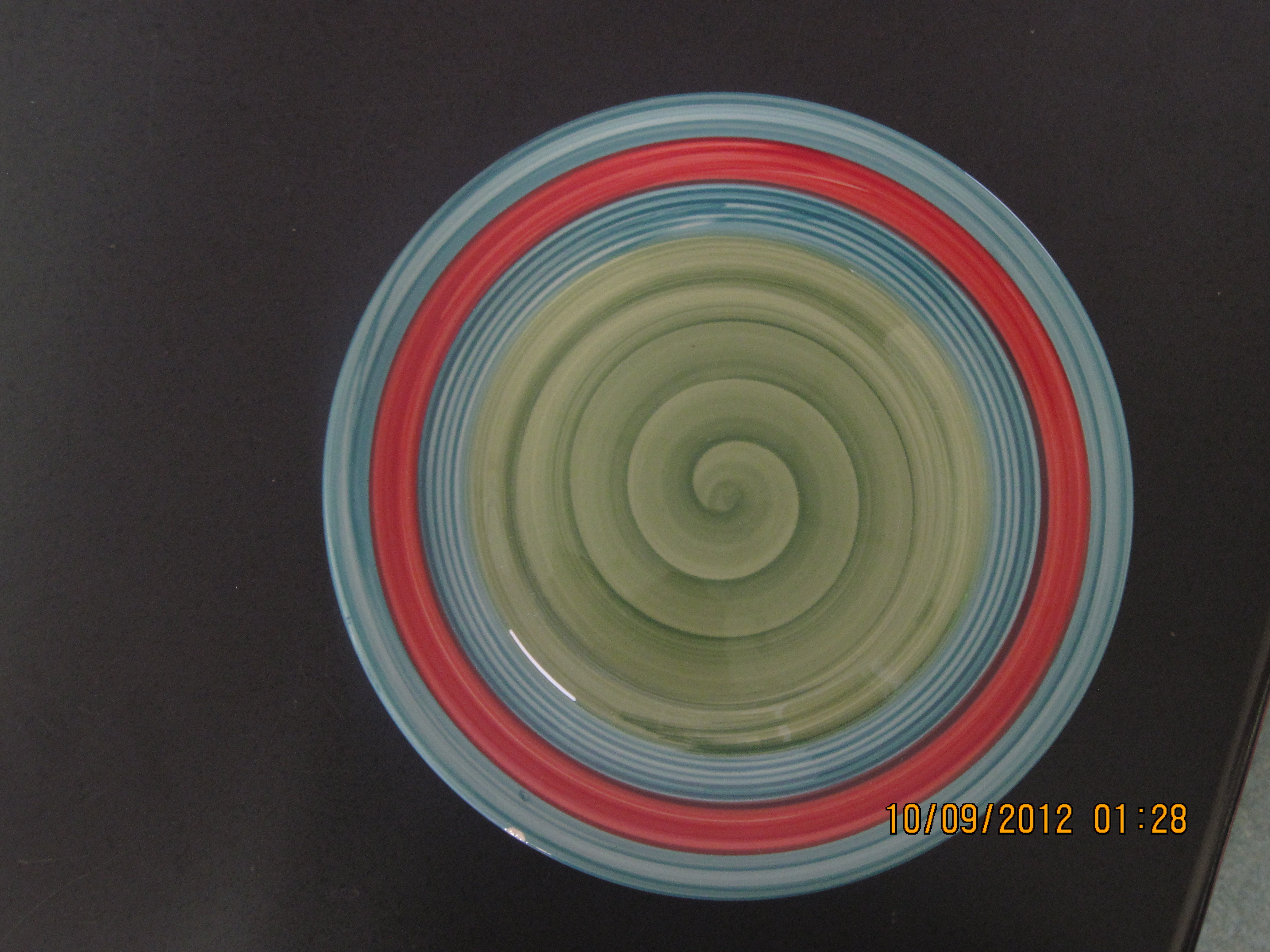 "South Of Border Side Plate Dinnerware (8.5"" DIA swirls)"