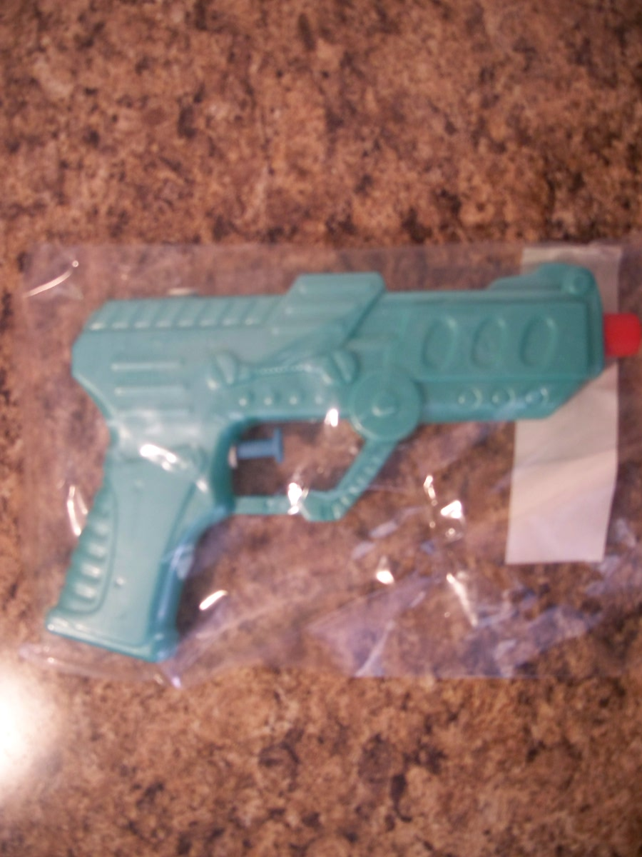 Teal Toy Water Gun