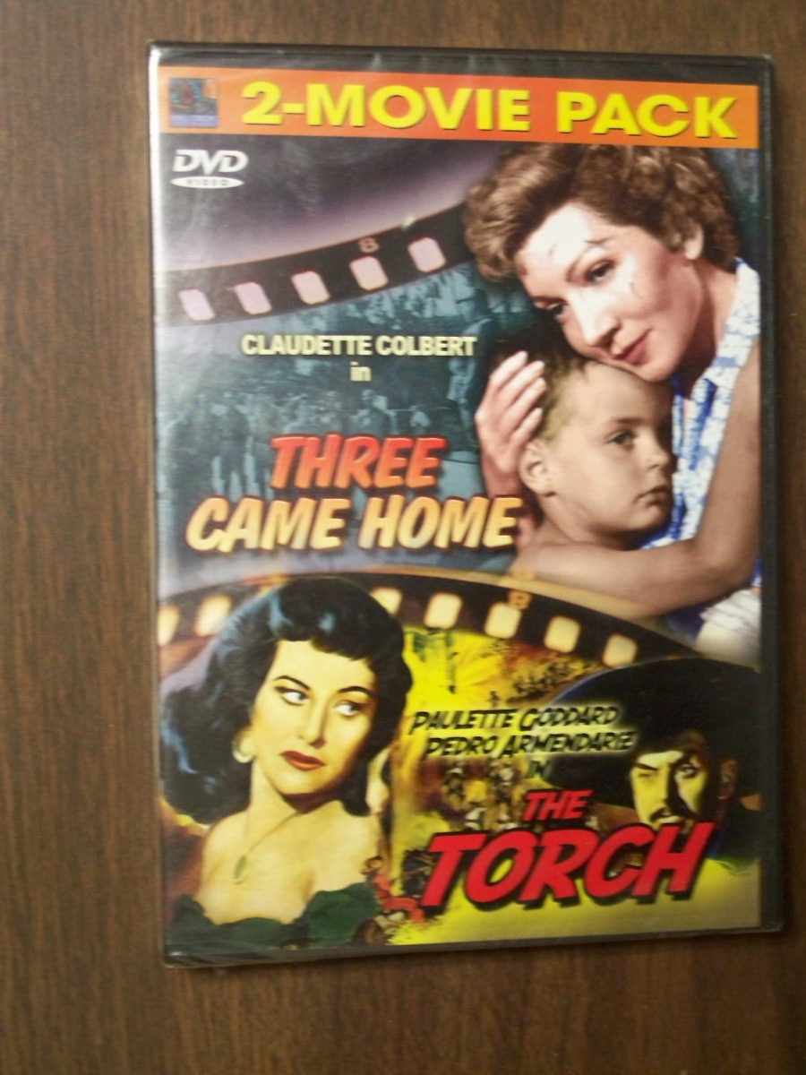 Doulbe Feature~~Three Came Home / The Torch