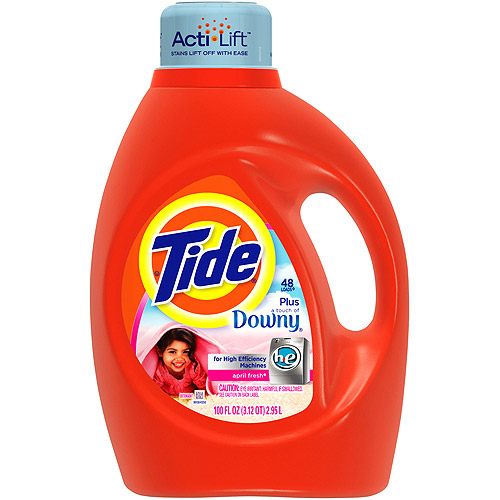 Tide 2x Ultra H.E. With A Touch Of Downy Liquid Laundry Detergen