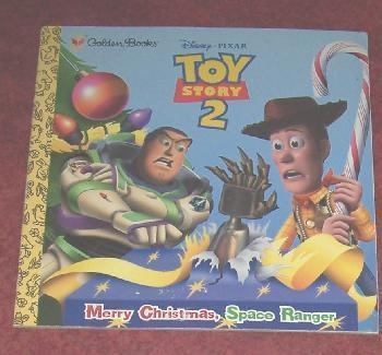 Disney Books Toy Story 2 Merry Christmas, Space Ranger