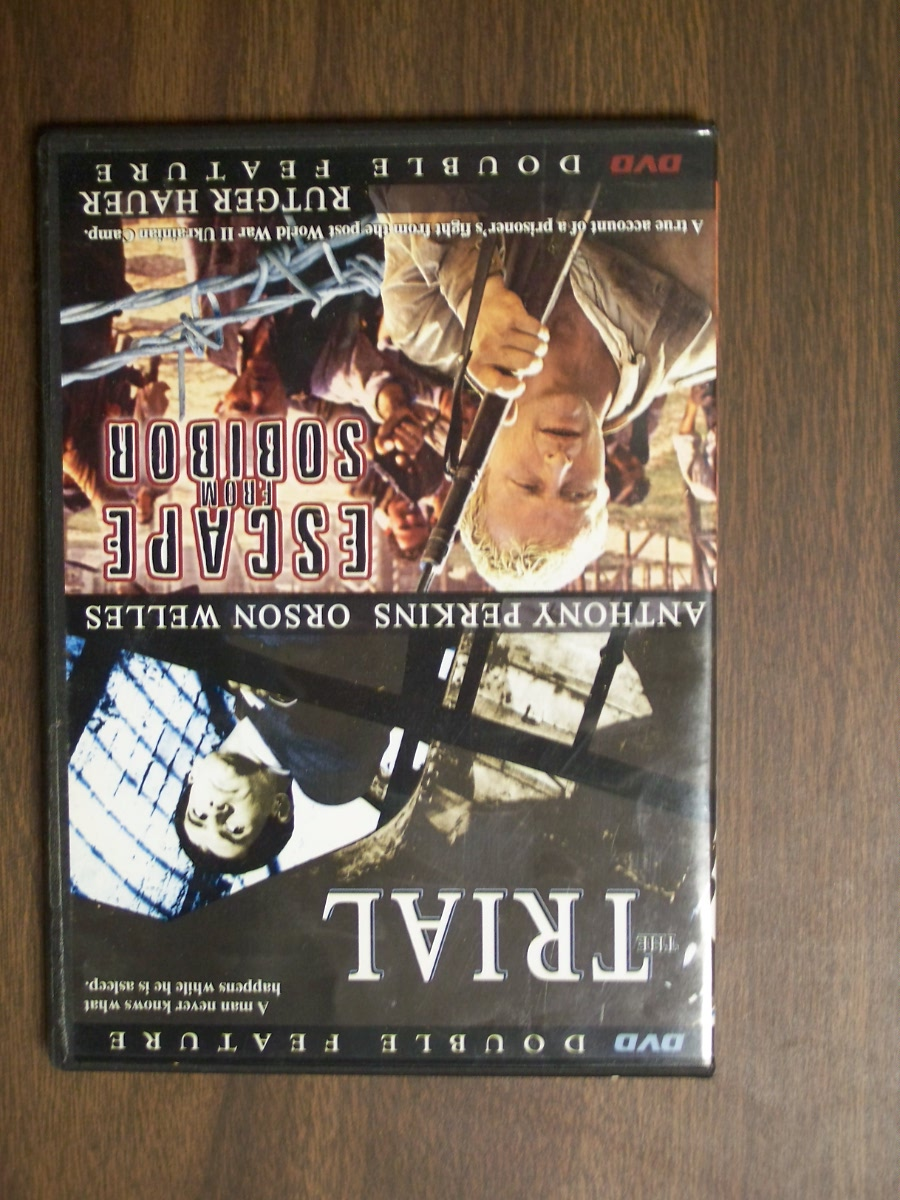 Double Feature~~The Trial/ Escape from Sobibor