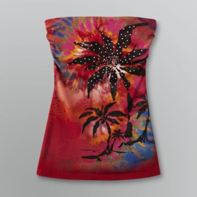 Bongo Sz S Juniors Tropical Red Tube Top