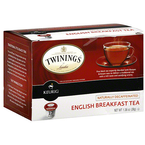 Twinings Of London English Breakfast Tea, 1.36 oz (Pack of 6)